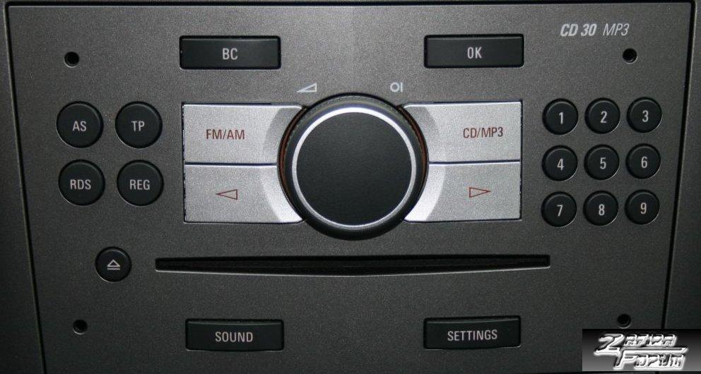 naprawa cd30 mp3 car audio forum opel24 miejsce dla. Black Bedroom Furniture Sets. Home Design Ideas